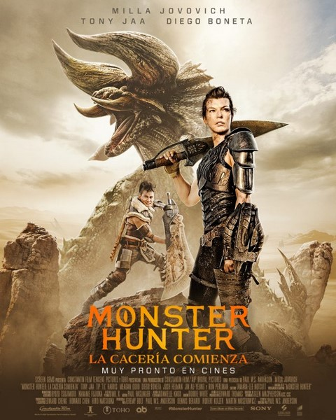 دانلود فیلم شکارچی هیولا Monster Hunter 2021